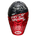 Bell Moto 9 Carbon Flex Fasthouse DITD Matte/Gloss Red Navy
